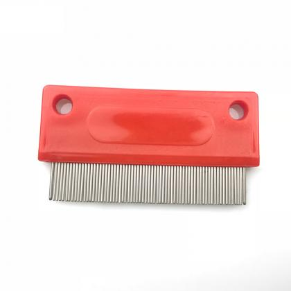 human head remove flea nit metal stainless steel lice comb