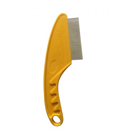 Pet dog remove flea nit metal stainless steel anti lice comb
