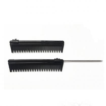 removable metal tail comb