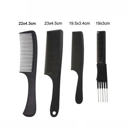 salon use hair products carbon comb heat-resisting hair cutting barber comb
