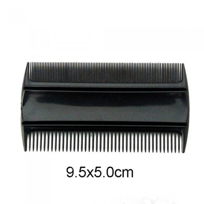 flea nit free comb for childrens hair plastic hair lice comb