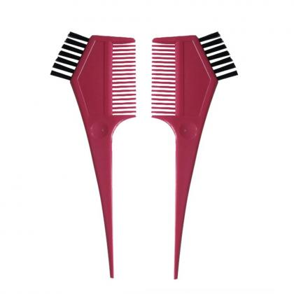 hair salon equipment hair tinting dyeing coloring comb brush