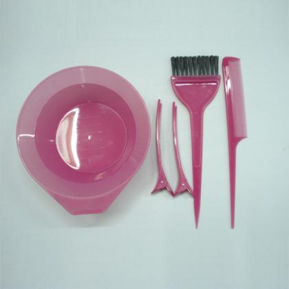 hair salon equipment plastic mixing bowl and dyeing tinting brush